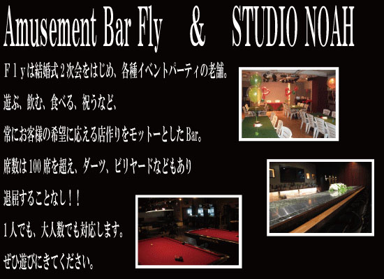 Amusement Bar Fly & STUDIO NOAH